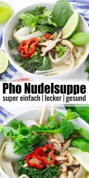 Pho Nudelsuppe